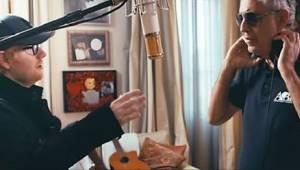 Ed Sheeran og Andrea Bocelli har i fællesskab udført en overvældende version af