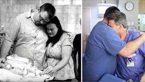 Barnet døde umiddelbart efter fødslen. 10 måneder senere førte miraklet lægen ti