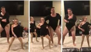 Da hans døtre bad ham om at danse med dem, fik han næsten et hjerteanfald, men s