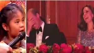 Brak Den lille pige havde en lidt atypisk bøn til prins William. Til stor morska