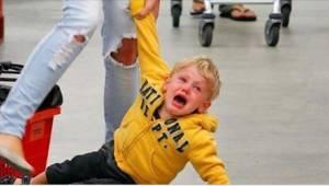En kvik mor viser her, hvordan man i 5 skridt kontrollerer et vredesudbrud hos b