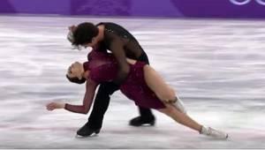 Hvordan Tessa Virtue og Scott Moir præsenterede sit program i OL, vil gå ned i h