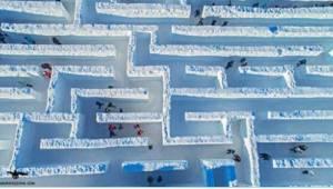 Den længste, sne labyrint af verden ligger i Polen! Du er nødt til at se den!