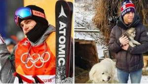 Da han fløj til Pyongsang havde han to mål - at få en medalje og redde hundene.