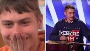 Teenageren fra en socialt udsat familie sang i et talent-show program. Efter nog