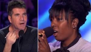 Den unge kvindelige deltager dedikerede Whitney Houstons værk til sin afdøde mor