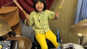 Den otteårige pige henrykkede Robert Plant med sin perfekte udførelse af en melo