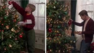 En genial julereklame genskaber scenen fra kultfilmen Alene hjemme. Den skal ses