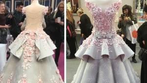 Det lignede en fantastisk brudekjole, lige indtil internetbrugerne afslørede, hv