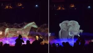 Et cirkus besluttede, at de ikke længere ville plage levende dyr, så i stedet fo