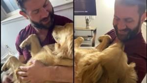 Manden sang en vuggevise for sin hund. I vil helt sikker blive rørt, når I ser,